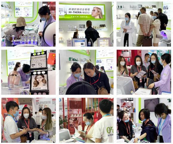 第57届中国CIBE(上海虹桥)国际美博会—奥拉克集团完美收官